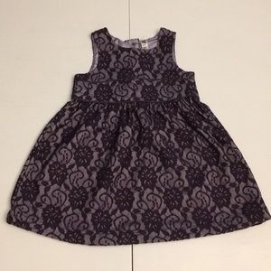 Cherokee girls 3t purple lace dress